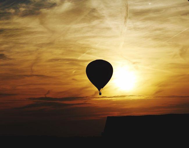 43 Golden Moments Mongolfière couché de soleil Couché De Soleil