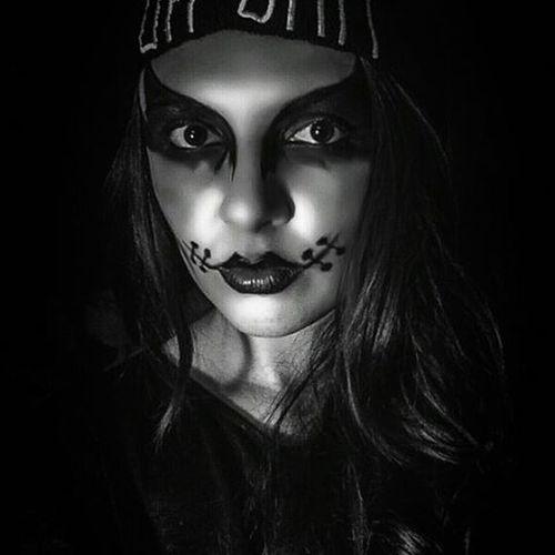 Happyhalloween Halloween Ohshit Blackandwhite Goddamnme Crazy Boo Muthafucka
