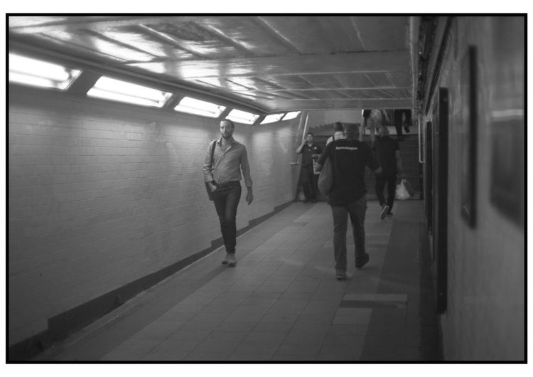 Analogue Film Kodak Kodak T-max 400 Minolta New York New York City B&w Blackandwhite Film Photography Filmisnotdead Kodakfilm Streetphoto_bw Streetphotography Subway