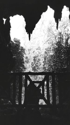 Cascata Waterfall Water B&w Blackandwhite Nature