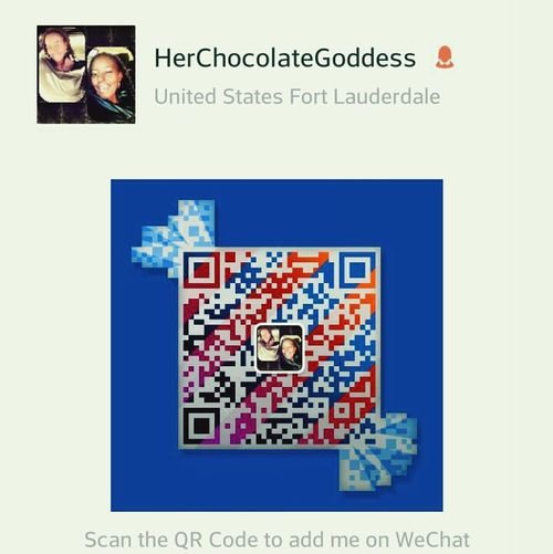I'm on WeChat.... Download the app and drop your username Chat Team Chocolate Team Lesbian Follow Me