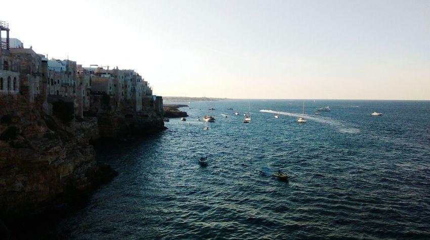 Puglia Italy Calm Sea Eternal Love Missyou Blue