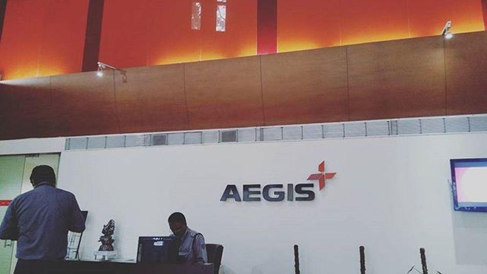 And that's where i work Aegisbangalore Aegis Newstart Newlife Newcity Newme👑👑👑
