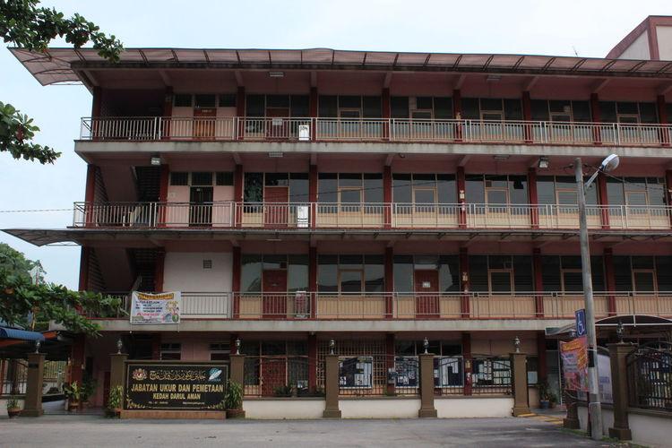 Architecture Balcony Building Exterior Day Façade No People Outdoors at Kulim Kedah Malaysia Kedah