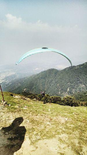 amazing paragliding experience@Bir-Billing(one of the best sites for paragliding) Countryside Paragliding Himachalpradesh Eye Em A Traveller Eyeemphoto Abirdseyeview