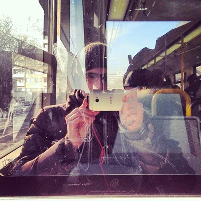Riding the tram in the sun. #HTC #One #Beats #Mixr #Timbuk2 BEATS One HTC Mixr Timbuk2