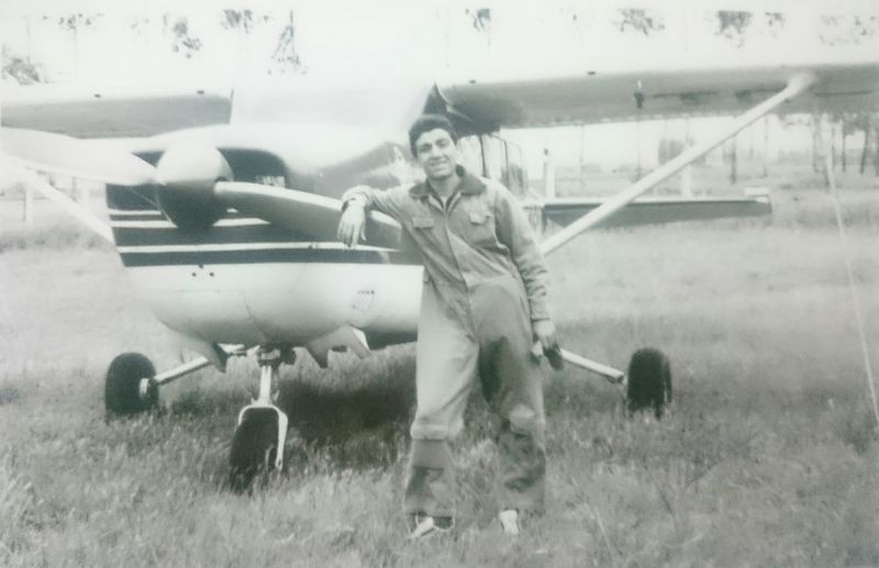 My Father Soldierstories Cessna172 Oldtime My Hero