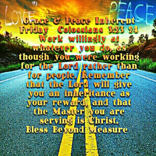 Grace & Peace Inherent Friday