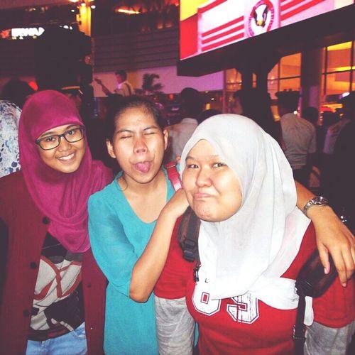 w/aida&ka Azizah at communication avenue UPH Summarecon Mall Serpong