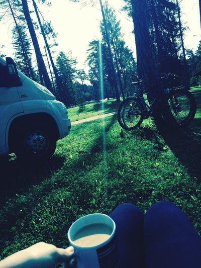 Let's Go. Together. Camping biking Modern Nomads