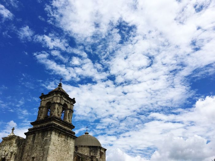 Ice Age Sky And Clouds Mission San Jose Religion Catholic Stmarys Church