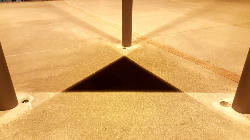 Triangle Triangle Shape Geometric Shape Geometry Geometric Abstraction Geometric Geometric Abstraction Shadow Shadows & Lights Streetphotography City Life Park - Man Made Space City Low Angle View Park Light Light And Shadow EyeEm Selects Sand Shadow High Angle View Abstract No People Day Outdoors Close-up The Graphic City