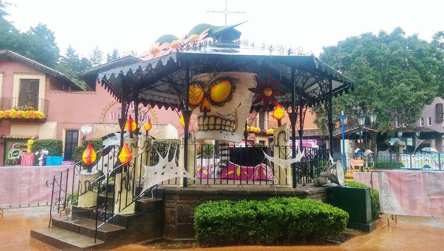 Catrina Gazebo Sixflags Festival Del Terror