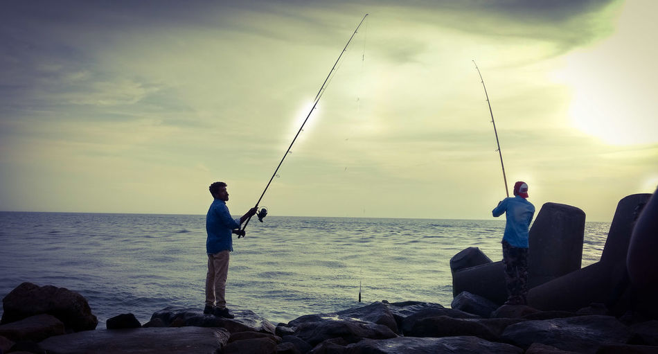 Fishing Sea