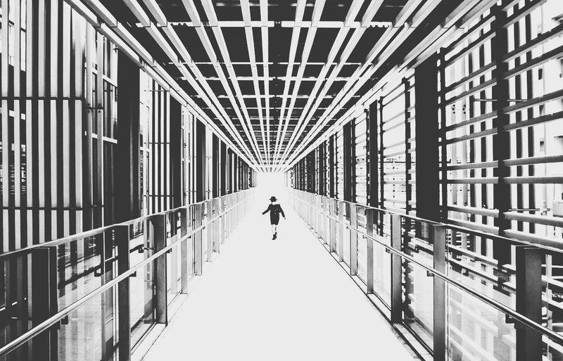 Rule Of Thirds Damien Guyon - Endymion Photographies - Landscape - Website : http://endymion-photo.com Blackandwhite Landscape Architecture Japan Art EyeEm Best Shots Contrast Lines White