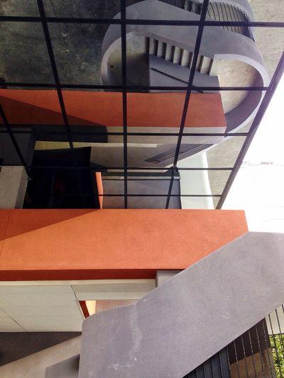 Orange !! Architecture Architecture_collection Urban Geometry Orange Color Reflection