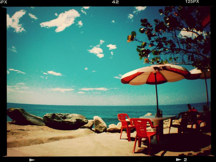Relaxing Landscape Color Beach