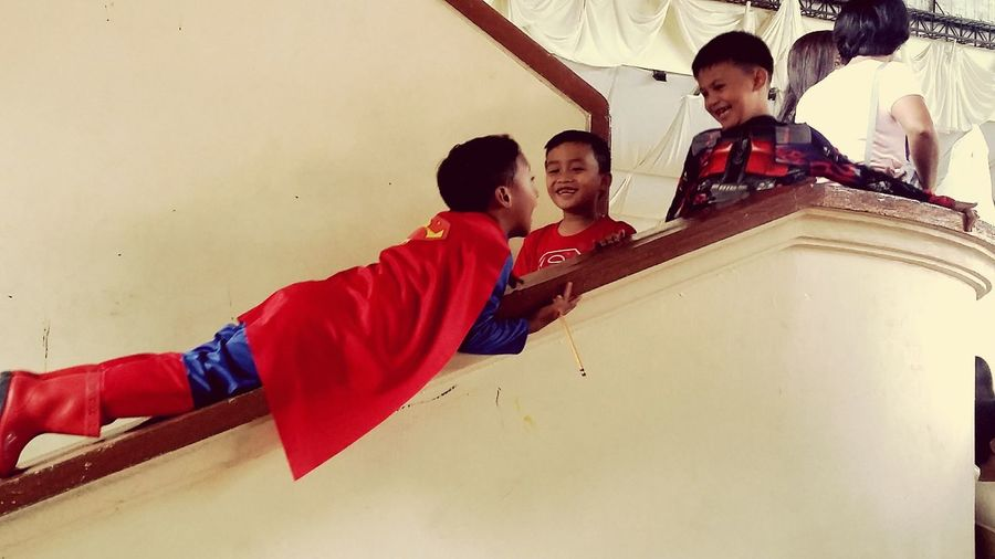 Superkid Costume Party
