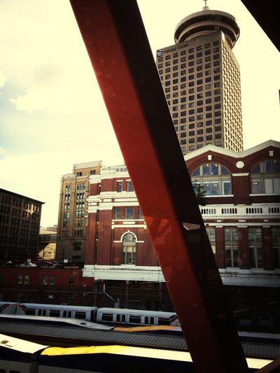 At Expo Line Skytrain