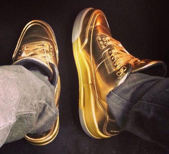 Air Jordan 3 Jordans Air Jordan Gold
