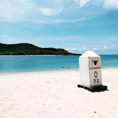 0km.NEMOXXSAMAESANTRIP♡ Thailand Beach Beautiful Relaxing Blue Clear Sky Clear Clean