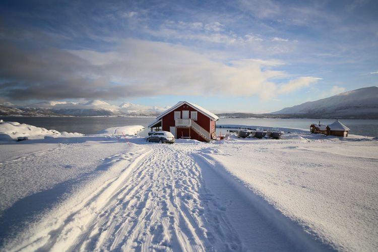 Our Lodge At Larseng Tromso Area Norway🇳🇴 Seaside