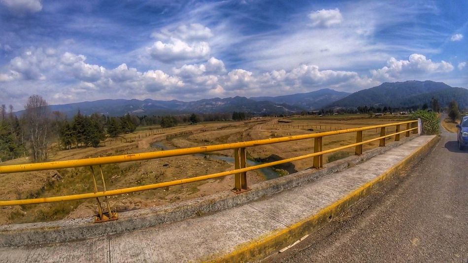 Mountain Landscape Sky Cloud - Sky Nature Mountain Range Road Beauty In Nature Outdoors Day Scenics