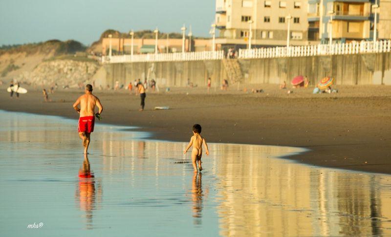 Future Runner Running Beach Beachphotography Beach Photography Sunset Sunset_collection Water Baby EyeEm Best Shots Landscape_Collection 2017 Eyeem Awards Landscape_photography Relaxing