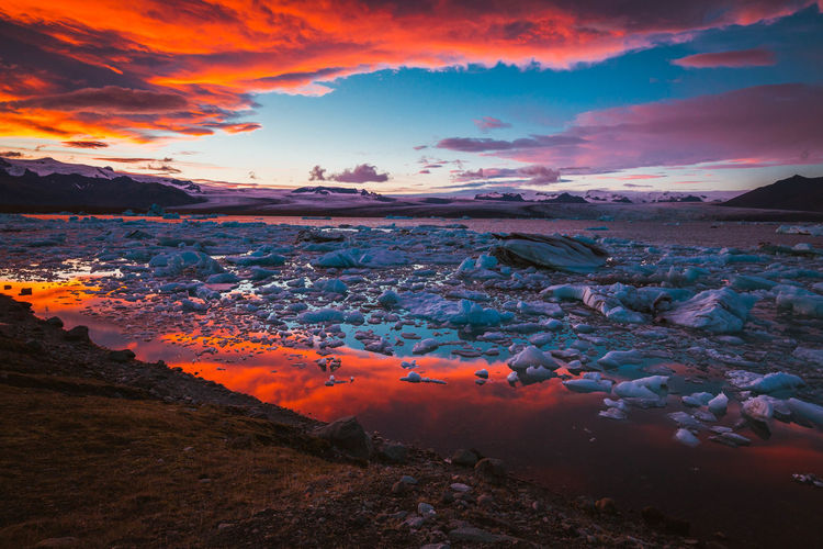 Aerial View Beauty Beauty In Nature Business Finance And Industry City Cityscape Cloud - Sky Day Environment Extreme Weather Iceland Landscape Mountain Multi Colored Nature No People Outdoors Scenics Sea Sky Social Issues Sunset Tree Water
