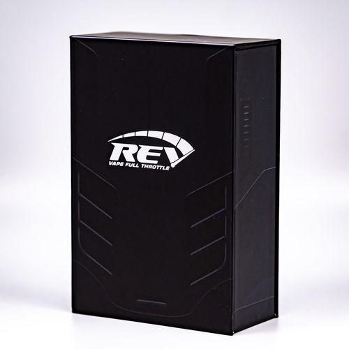 Rev vape throttle Ecigar E-Cigarette Ecigarette Smoke Vape Technology Chipset Vaping Single Object Box - Container Close-up Sign No People Vaporizer  Box Indoors  Studio Shot