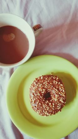 Food And Drink Food Ready-to-eat Indoors  Sweet Donuts🍩 Donut Dessert Food And Drink Cacao Drink