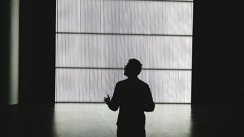 Philosophical exhibitionism Exhibition Silhouette Darkness And Light The Places I've Been Today