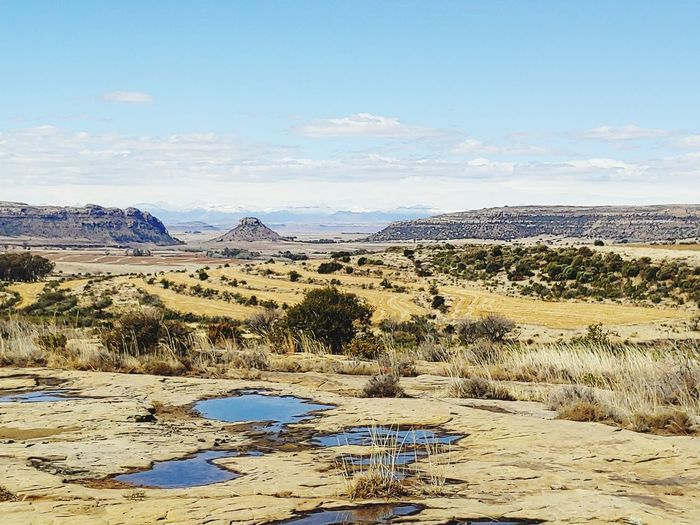 wintertime in the Freestate, South Africa South Africa Freestate South Africa Peace And Quiet Peaceful Nature Wintertime Panorama Nature Water Sky Landscape Cloud - Sky Arid Climate Geology Drought Rocky Mountains Physical Geography Rugged Canyon Eroded Barren