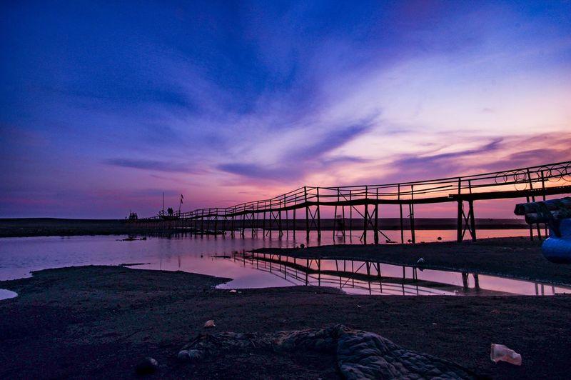 Nice Evening Sunset Blue Sky Landscape INDONESIA Nightshot Long Exposure XT100 Worldshot Greatshot Naturelover Longexposure Longexpohunter Lazzyshutters A New Beginning EyeEmNewHere