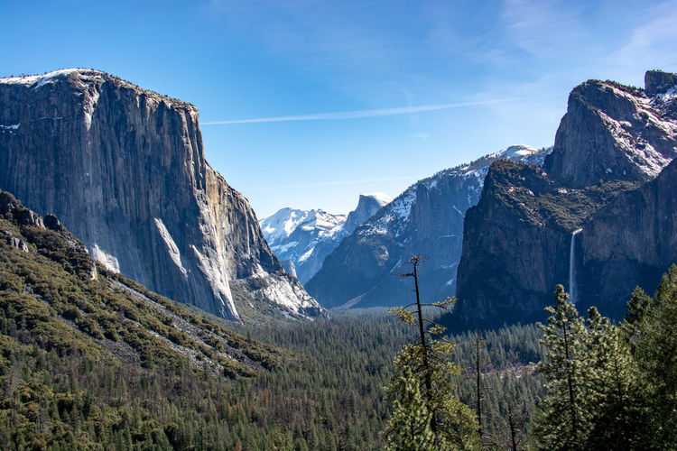 Yosemite National Park Tree Nature Tranquility No People Beauty In Nature Outdoors Tunnel View - Yosemite National Park El Capitan Valley