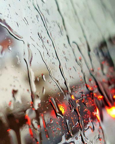 Photography In Motion Drops Of Rain Redlight Backgrounddefocus Showcase April