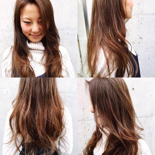 ブリーチ使わずグラデーション Hairloungebeach Tokyo,Japan Aoyama
