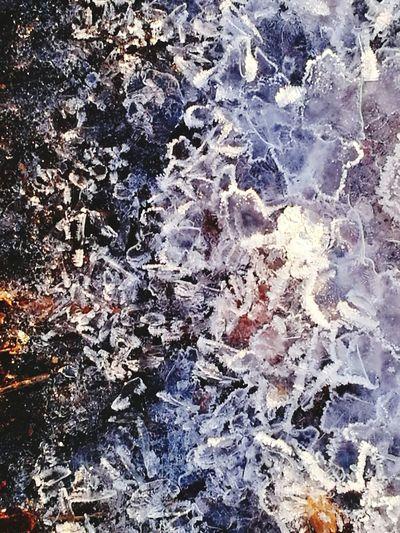 First Eyeem Photo Winterbeach Winterscapes Winterwonderland Ice Close-up Water Nature Ice Crystals