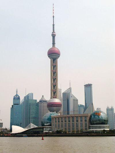 Oriental Peal Tower in Shanghai