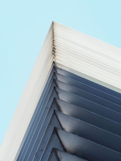 *pale* Sky Blue Clear Sky Built Structure Architecture Modern Building Exterior City Close-up Olympus Pen-f Photography Abstract EyeEmNewHere
