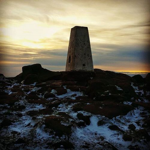 Trig point at