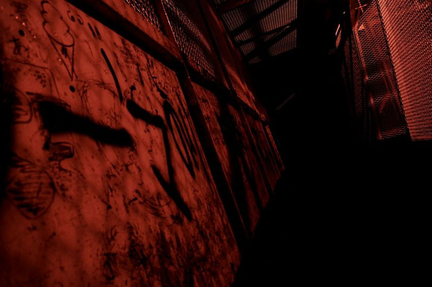 It's red, dark and scary Close-up No People Indoors  Ancient Civilization Midnight