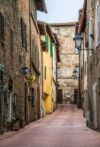 Panicale (Perugia - Italy) Perugia Perugia Italy Street Light Umbria, Italy Alley Architecture Built Structure Direction Footpath Outdoors Residential District Street Street Light Streetphotography The Way Forward Umbria Village