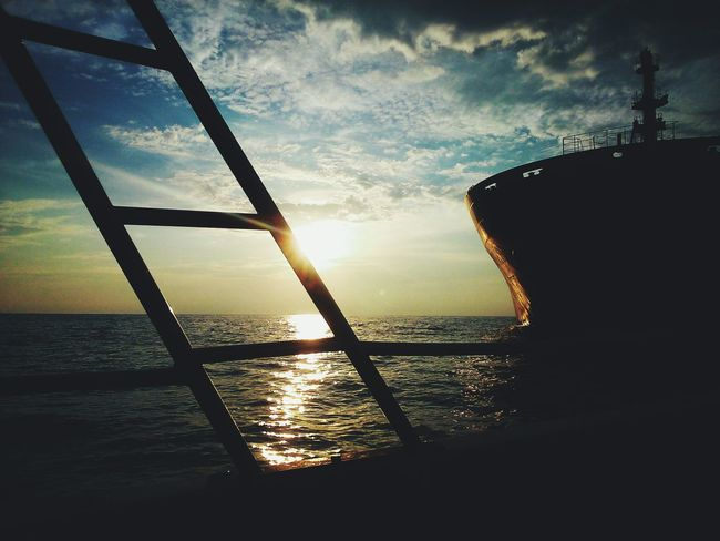 Travel. It leaves you speechless then turns you into a storyteller. EyeEm Malaysia Boat Ride Travel Photography Cloud And Sky Vscocam Sunset_collection