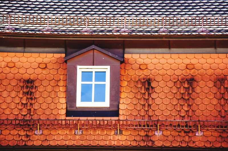 Architecture Built Structure Building Building Exterior No People Window The Architect - 2018 EyeEm Awards Pattern House Roof Roof Tile Full Frame Closed Outdoors Shape Protection Design Backgrounds