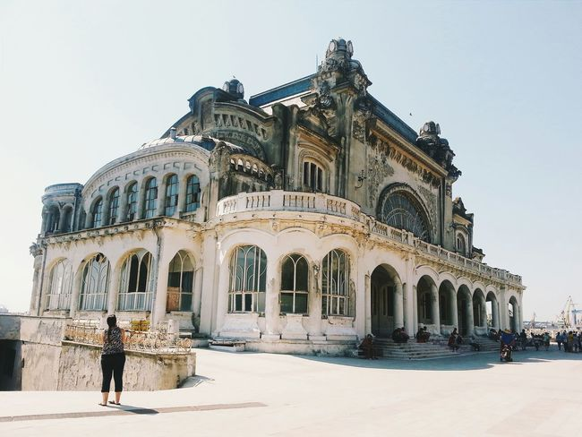 Constanta Romania Building Arhitecture Wondering Old VSCO Check This Out Casino Amazing Amazing Architecture