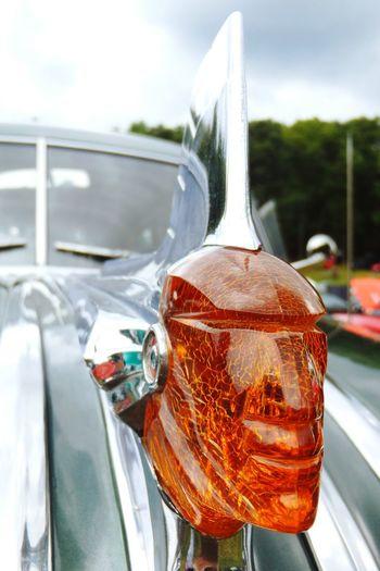 Hood ornament. Hoodornament Oldmachine Classic Car Oldcars Chrome Vintage Cars Carshows Macro Beauty