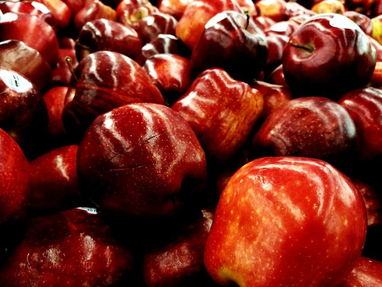 Red Food And Drink Healthy Eating Freshness Applesauce  Retail  Large Group Of Objects Close-up Indoors  Growth Togetherness Bunch Beauty In Nature Food And Drink Freshness