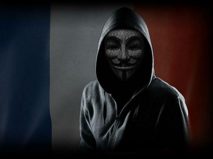 OpParis Prayforparis Anonymous Legion Stop Terrorism Aspettateci Hi! Don't Forget Peace Freedom