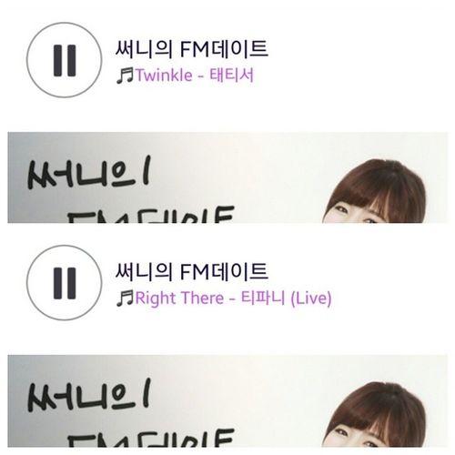 FMDATE FM데이트 쑨디 써니의FM데이트 702 w/ Hwang Manager (: